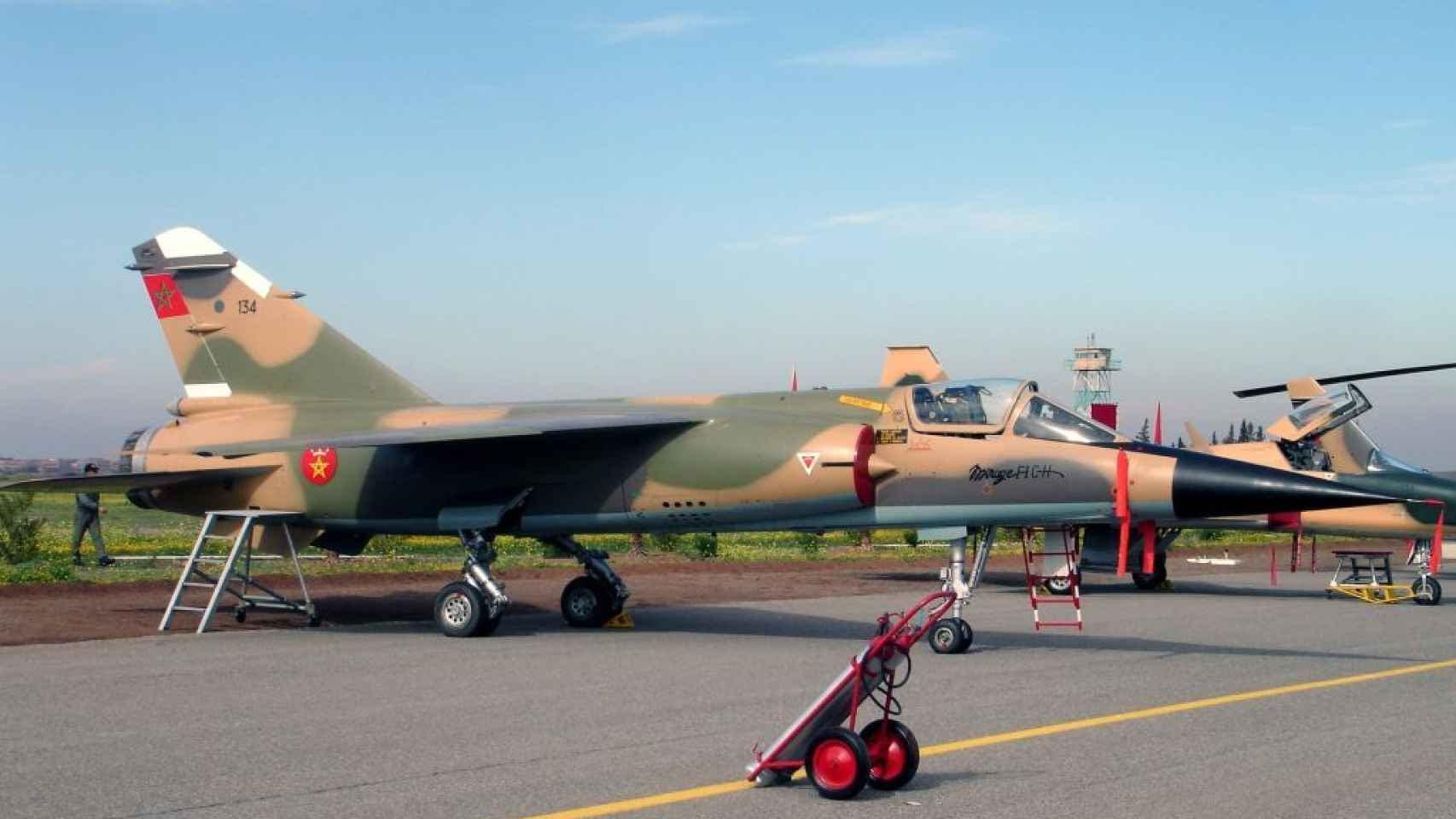 Mirage_F1 marroquí